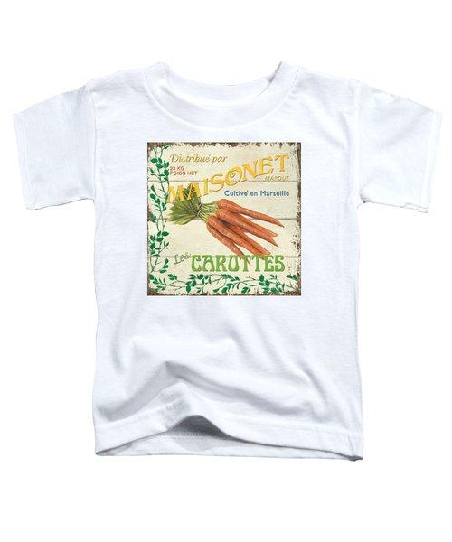 French Veggie Sign 2 Toddler T-Shirt