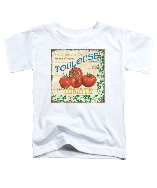 French Veggie Sign 3 Toddler T-Shirt