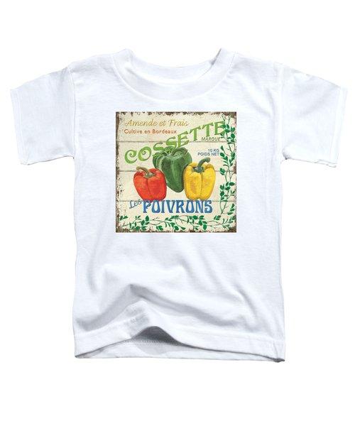 French Veggie Sign 4 Toddler T-Shirt