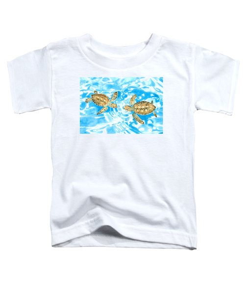 Friends Baby Sea Turtles Toddler T-Shirt