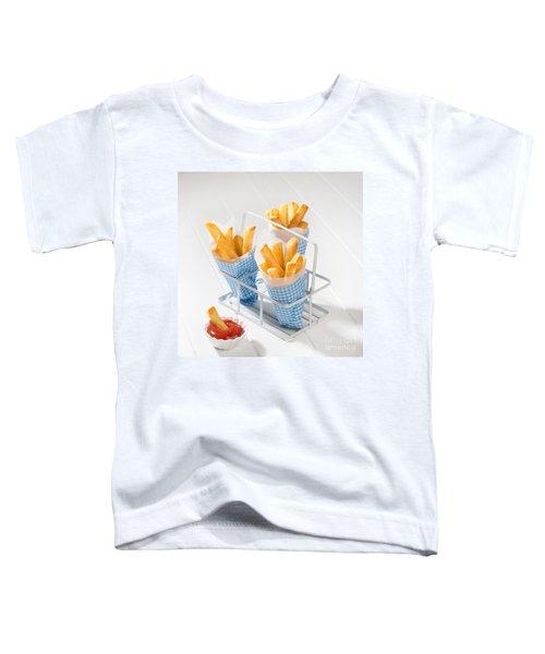 Fries Toddler T-Shirt by Amanda Elwell
