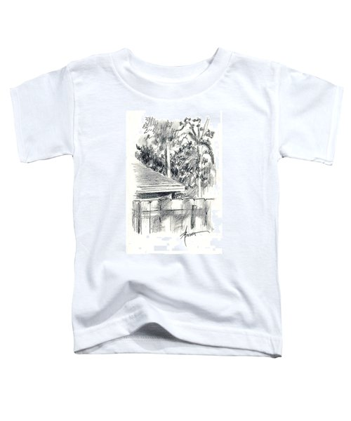 From The Breakfast Room Window Toddler T-Shirt