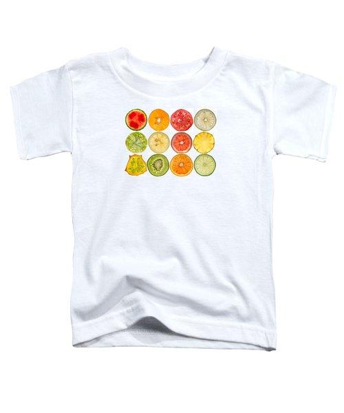 Fruit Market Toddler T-Shirt by Steve Gadomski