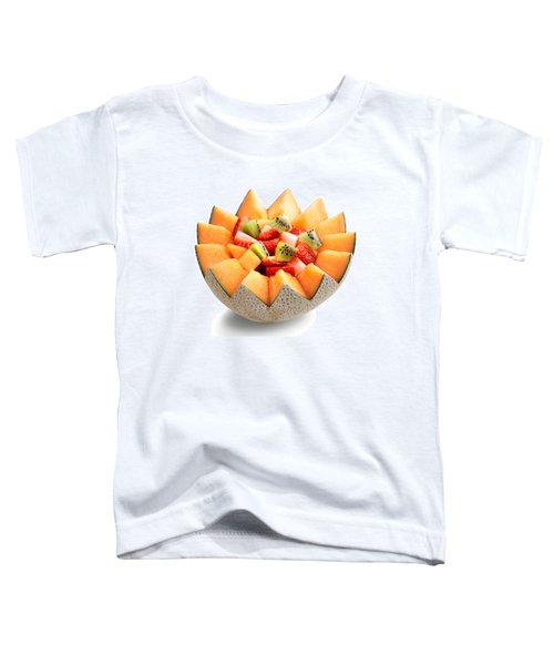 Fruit Salad Toddler T-Shirt by Johan Swanepoel