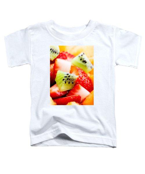 Fruit Salad Macro Toddler T-Shirt