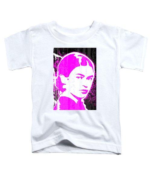 Fuchsia Frida Toddler T-Shirt