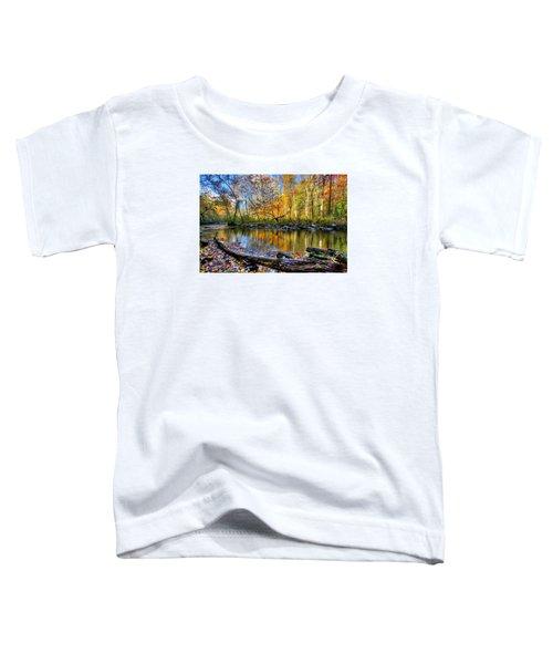 Full Box Of Crayons Toddler T-Shirt