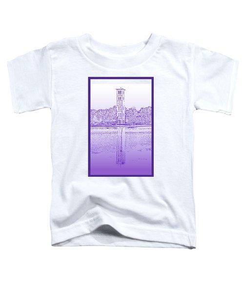 Furman Bell Tower Toddler T-Shirt