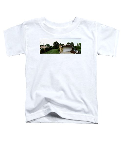 Garage With Hybrid Car, Stelle, Rogers Toddler T-Shirt