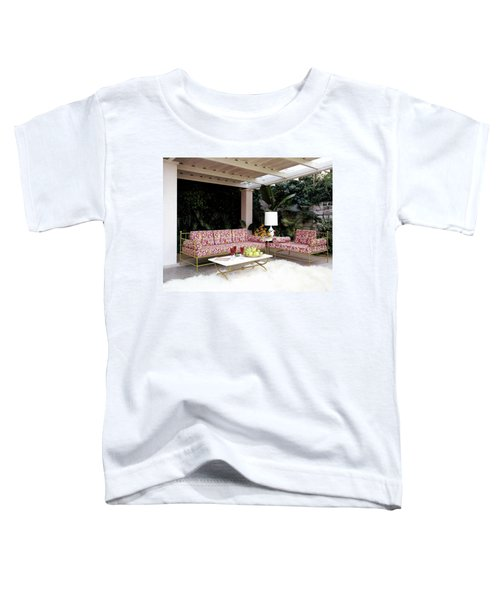 Garden-guest Room At The Chimneys Toddler T-Shirt