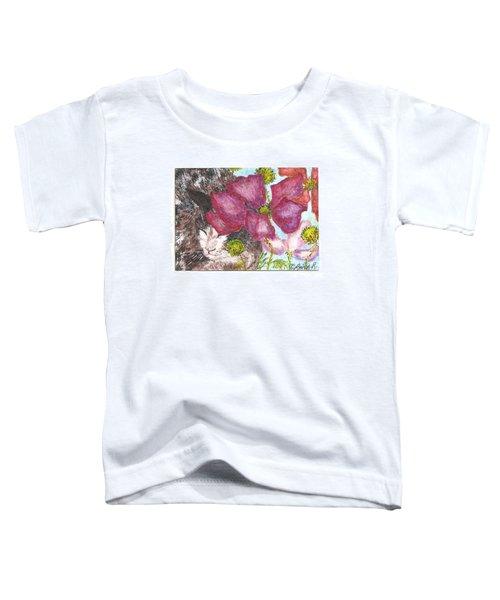 Garden Nap Toddler T-Shirt