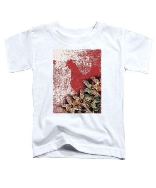 Garden Rooster Toddler T-Shirt