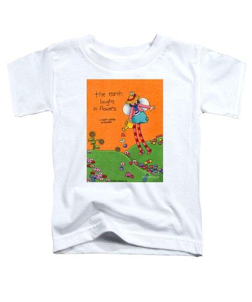 Gardener Angel Toddler T-Shirt