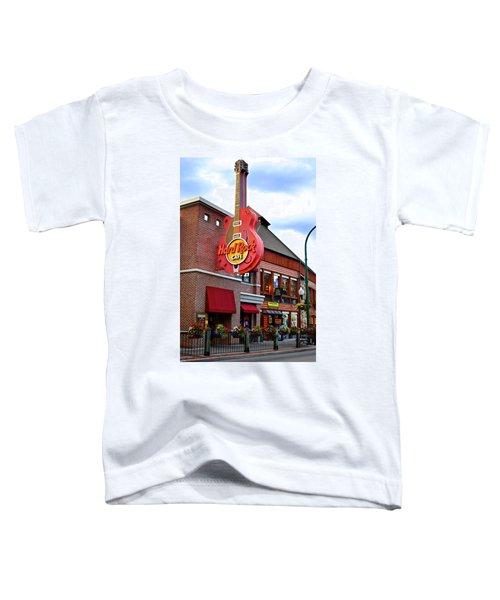 Gatlinburg Hard Rock Cafe Toddler T-Shirt