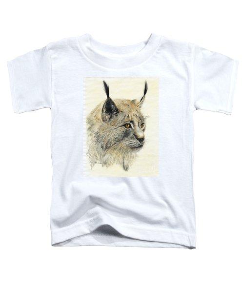 Gazing Lynx Toddler T-Shirt