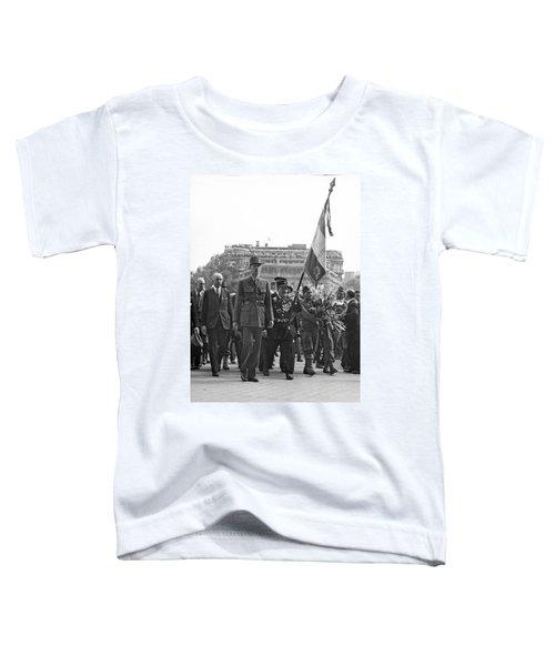 General Charles De Gaulle Toddler T-Shirt
