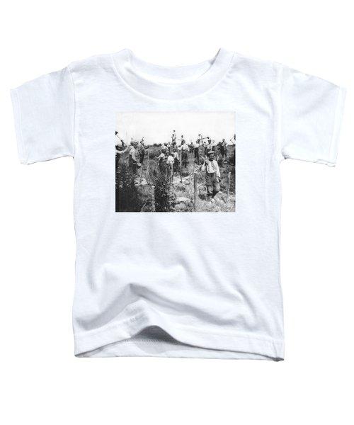 Germans Building Defences Toddler T-Shirt