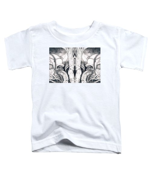 Ghost In The Machine - Detail Mirrored Toddler T-Shirt