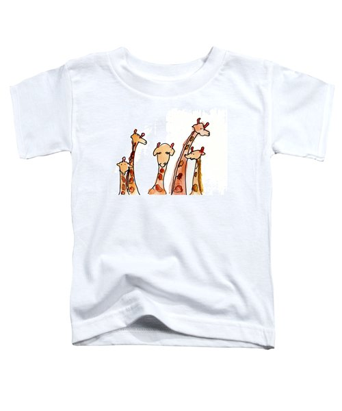 Giraffes Toddler T-Shirt