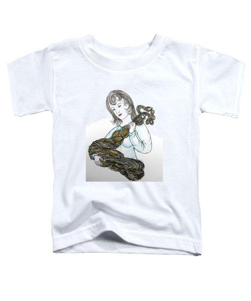 Girl And Tow Toddler T-Shirt