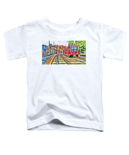 Going To Gillespie Field By Diana Sainz Toddler T-Shirt