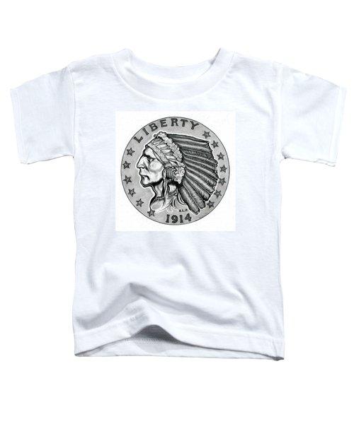 Gold Quarter Eagle Toddler T-Shirt