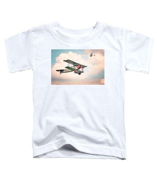 Golden Age Of Aviation - Replica Fokker D Vll - World War I Toddler T-Shirt
