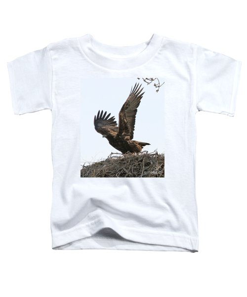Golden Eagle Takes Off Toddler T-Shirt