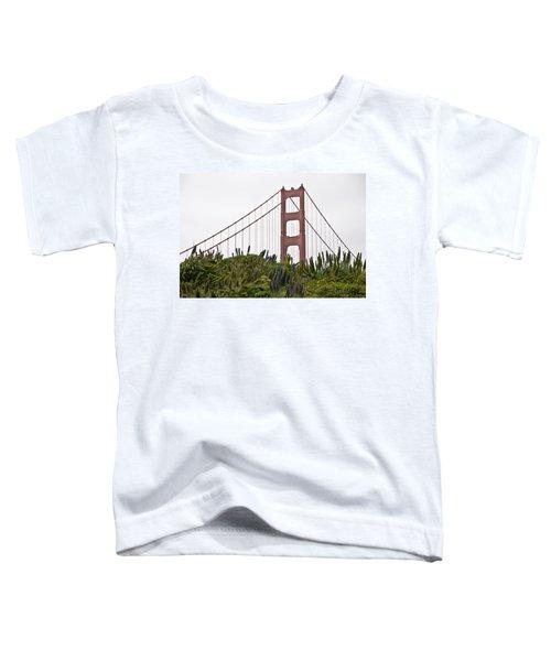 Golden Gate Bridge 1 Toddler T-Shirt