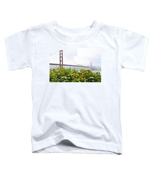 Golden Gate Bridge 2 Toddler T-Shirt