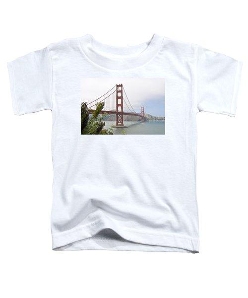 Golden Gate Bridge 3 Toddler T-Shirt
