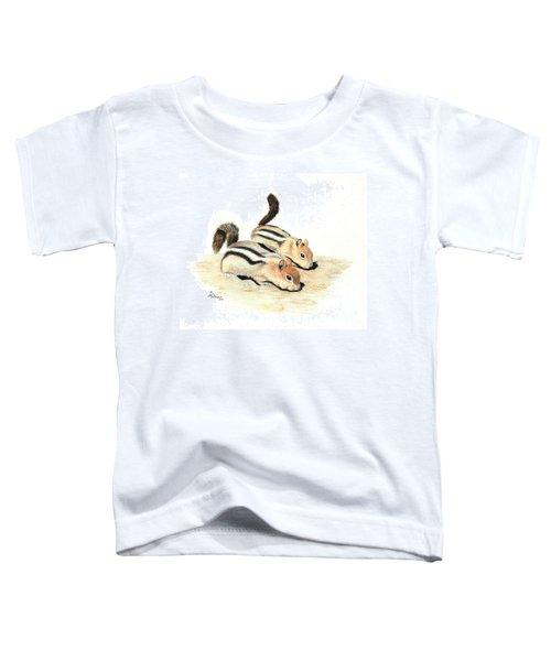Golden-mantled Ground Squirrels Toddler T-Shirt