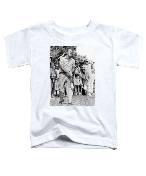 Golfer Arnold Palmer Toddler T-Shirt