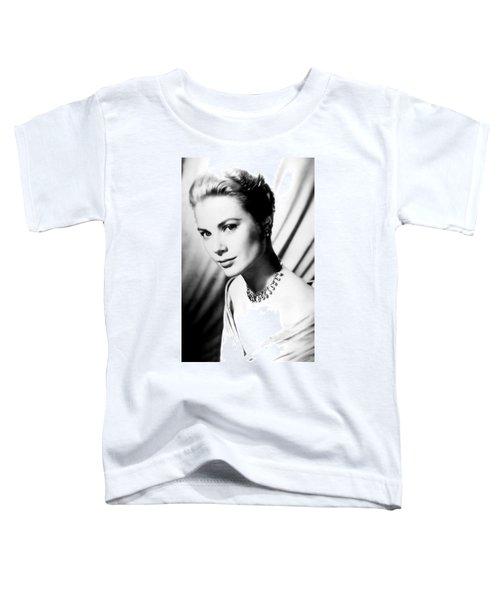 Grace Kelly Toddler T-Shirt by Daniel Hagerman
