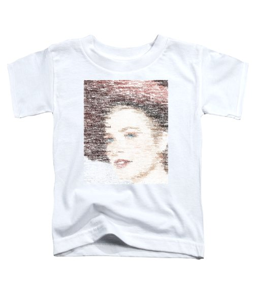 Grace Kelly Typo Toddler T-Shirt
