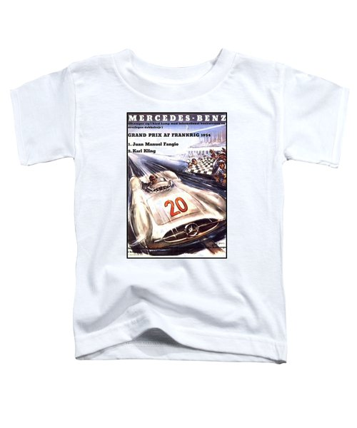Grand Prix F1 Reims France 1954  Toddler T-Shirt