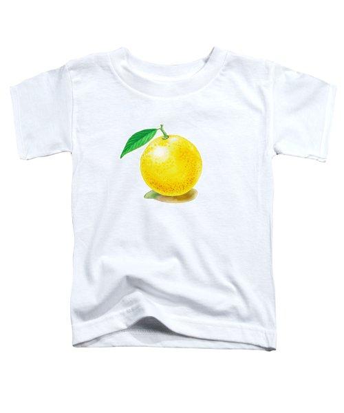 Grapefruit Toddler T-Shirt