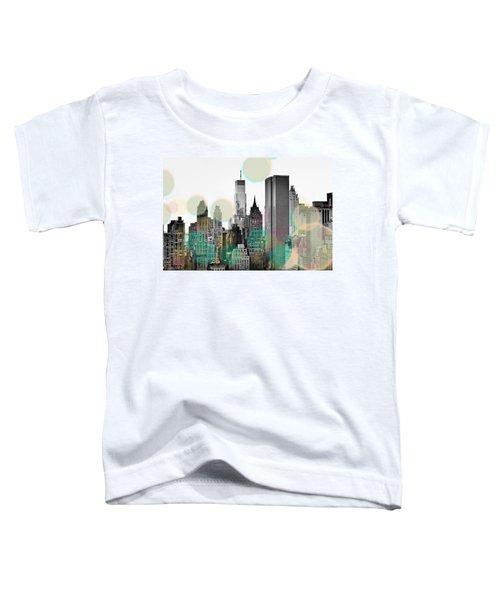 Gray City Beams Toddler T-Shirt