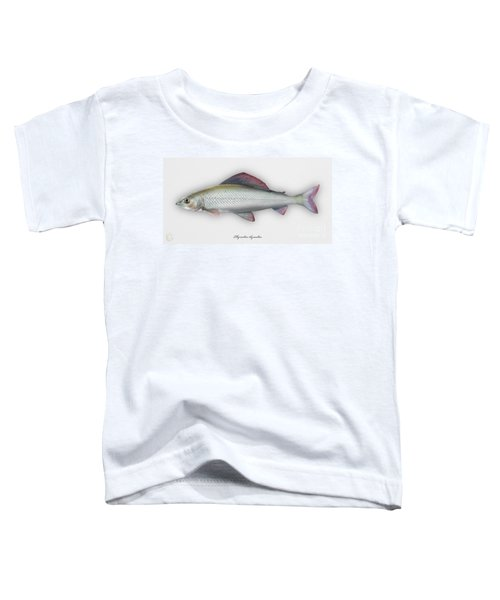 Grayling - Thymallus Thymallus - Ombre Commun - Harjus - Flyfishing - Trout Waters - Trout Creek Toddler T-Shirt