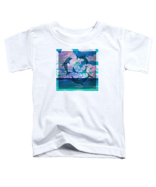 Green Dolphin Dance Toddler T-Shirt