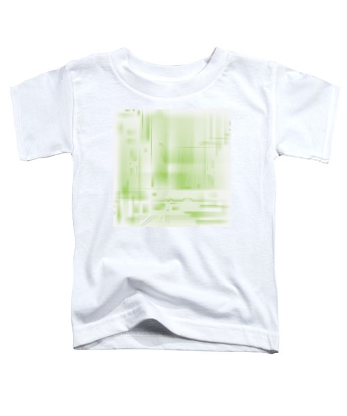 Green Ghost City Toddler T-Shirt