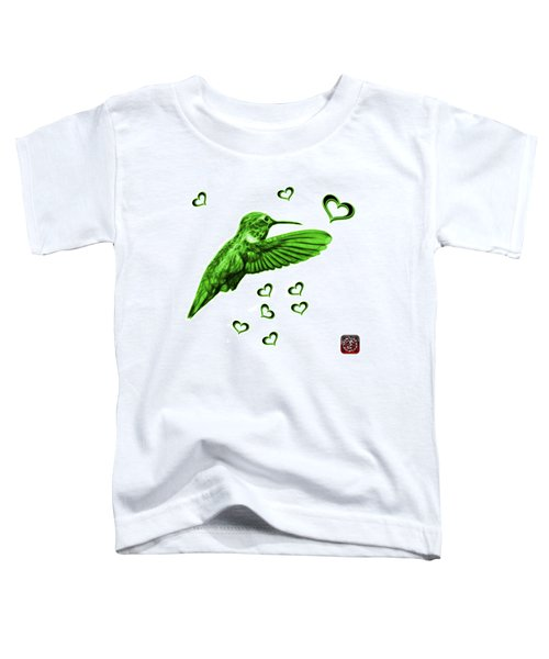 Green Hummingbird - 2055 F S M Toddler T-Shirt