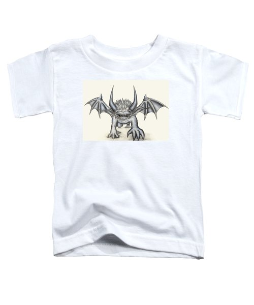 Toddler T-Shirt featuring the painting Grevil by Shawn Dall