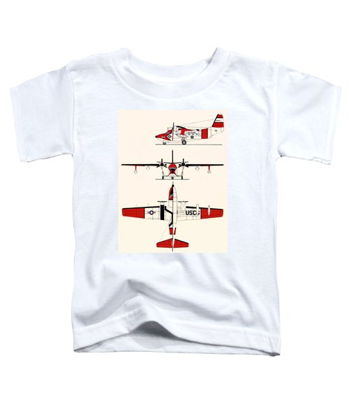 Grumman Hu-16e Albatross Toddler T-Shirt by Mountain Dreams
