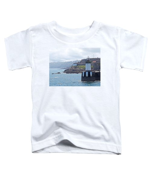 Guernsey Lighthouse Toddler T-Shirt by Gill Billington