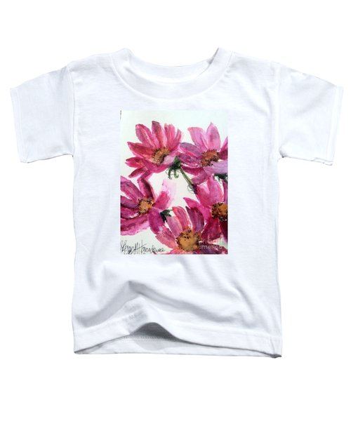 Gull Lake's Flowers Toddler T-Shirt