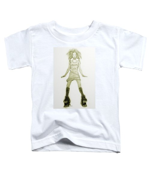 Hairy Boots Toddler T-Shirt