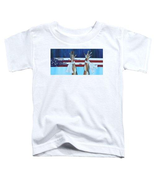 Hands Up Dont Shoot Toddler T-Shirt