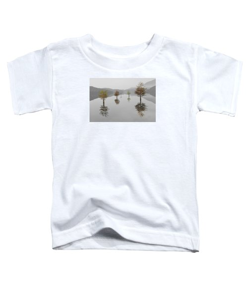 Toddler T-Shirt featuring the photograph Hanging Garden by Debra and Dave Vanderlaan