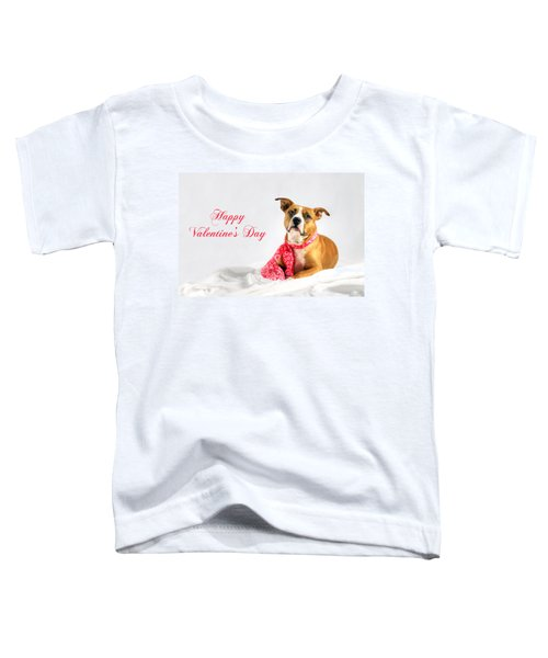 Fifty Shades Of Pink - Happy Valentine's Day Toddler T-Shirt